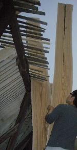 ダテ 桐材の乾燥