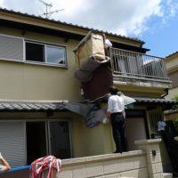 ローフで吊上げる作業3