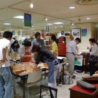 阪神百貨店 梅田店8Fで、浪速の技展がはじまりました。