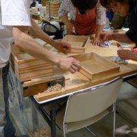 浪速の技展!桐箱作り体験、ご参加ありがとうございます。