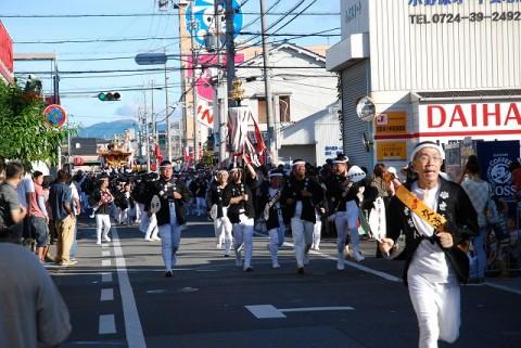 2012 岸和田だんじり祭り 16日本宮