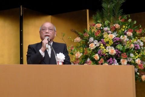 岸和田商工会議所65回商工祭記念式典、野口聖 岸和田市長ご挨拶