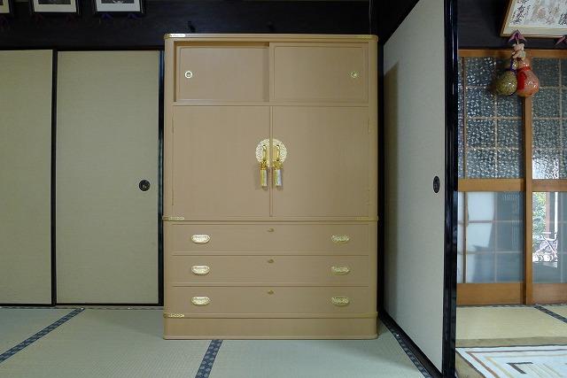 オリジナル伝統工芸大阪泉州胴丸衣装箪笥