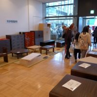 初音の家具 大阪泉州桐箪笥展示風景