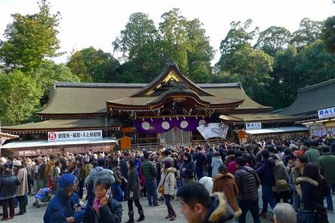 奈良 桜井市 大神神社 三輪さんの本殿社殿