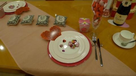バレンタインの飾りつけ 2