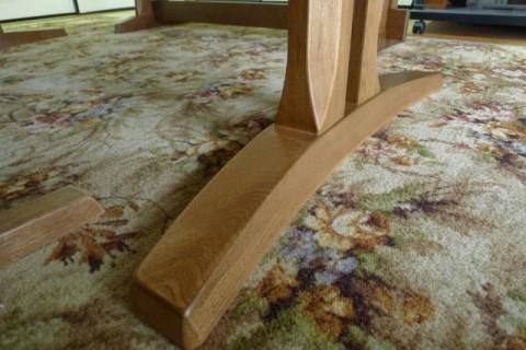 木楽の脚のデザイン