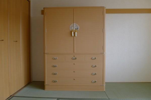 最高峰の大阪泉州桐箪笥の胴丸大衣装箪笥