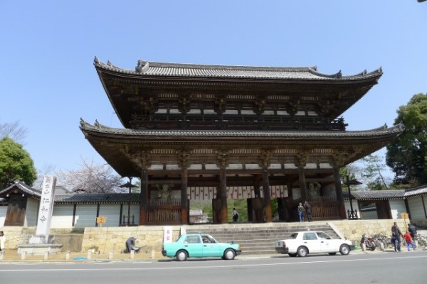 世界遺産 仁和寺の仁王門
