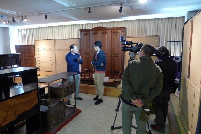 EO光テレビ関西の匠のインタビュー2