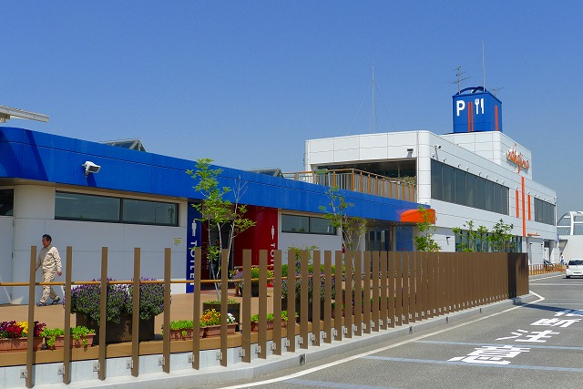またまた、阪神高速 湾岸線の中島パーキングエリアは、素晴らしいの続編です。