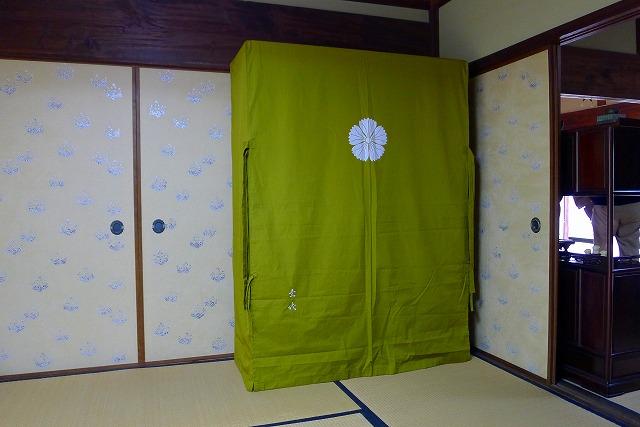 大阪泉州桐箪笥 こだわりの胴丸無垢別注衣装箪笥とオリジナル油単