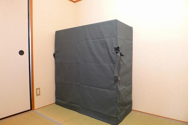 大阪泉州桐箪笥焼桐天地丸衣装箪笥油単写真