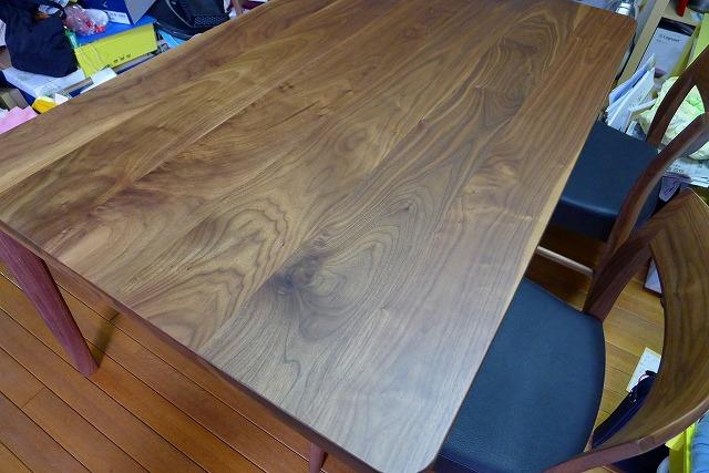 カリモクプレミアムDU6325R000テーブルウォールナット材