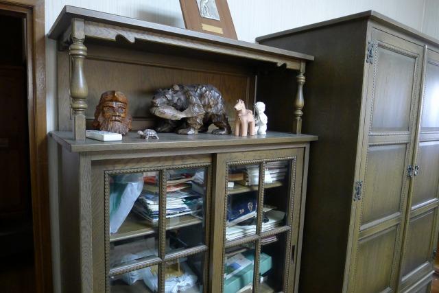 最高級の神戸家具の飾り棚