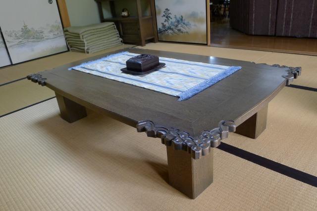 最高級の神戸家具の座敷机