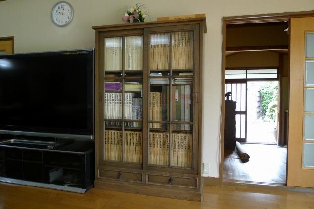 最高級の神戸家具の本箱