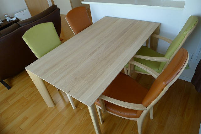 カリモクダイングテーブル、DU5200ME椅子肘付CT7800E542とCT7800E499肘なしCT7805E542とCT7805E499 3