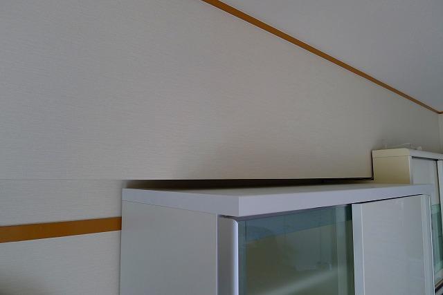カリモクダイニングボードEA3560HHが梁にぴったりです。