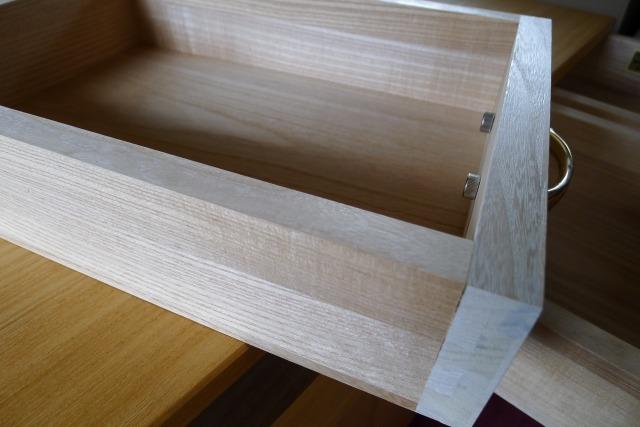 国産桐材の組手