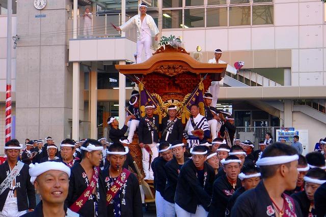 2013 岸和田尾生町(おぶちょう)のだんじり 1