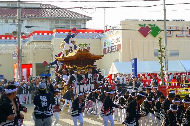 2013 岸和田福田町のだんじり