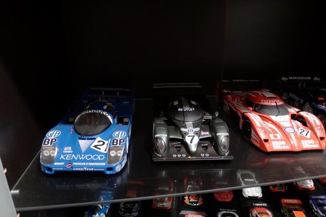 お客様のレーシングプラモデルのコレクション2