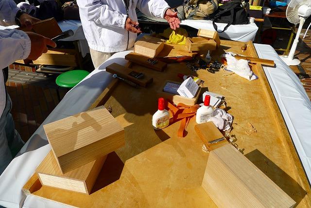 桐の箱作りの道具