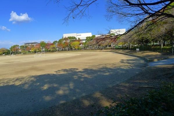 岸和田中央公園の400メートルグランド 2