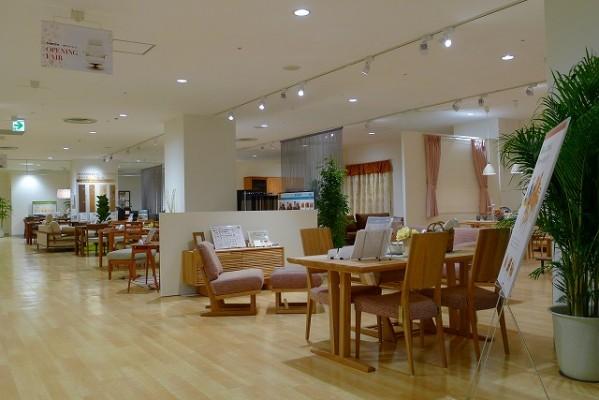カリモク家具神戸ショウルームの展示写真 3