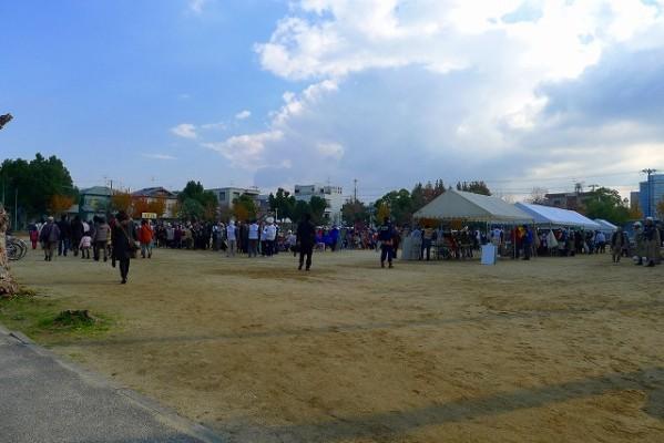 岸和田市の避難訓練の模様 4