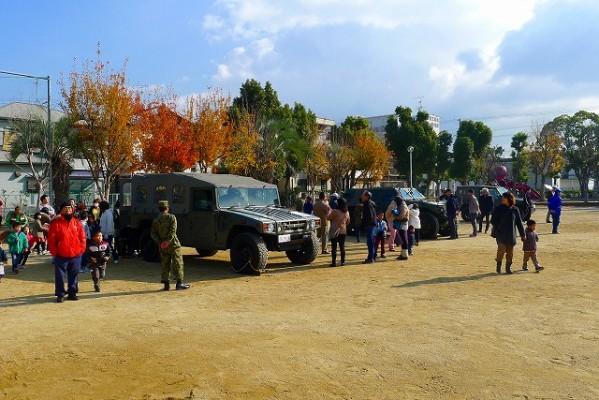 岸和田市の避難訓練の模様 7