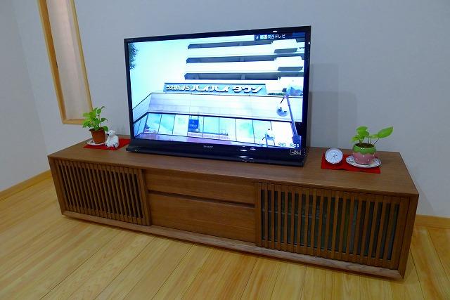 カリモク QU6067MH TVボードとテレビ