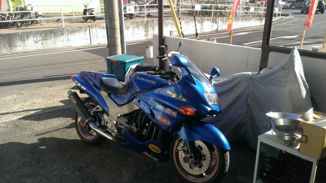 Kawasaki ZZR-100 ZX-11バイク