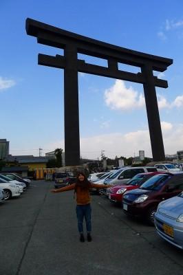 奈良 桜井市の大神神社(おおみわ神社)の大鳥居