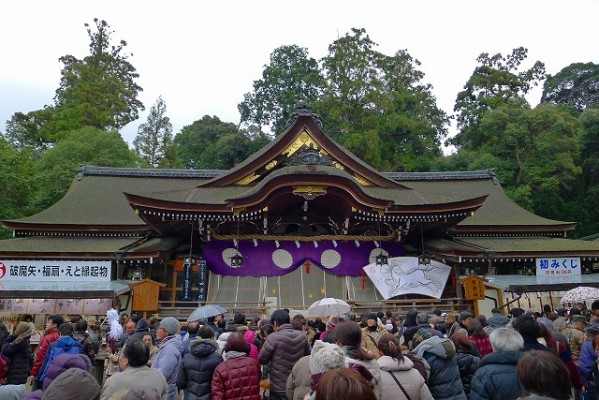 奈良 桜井市の大神神社(おおみわ神社)の本殿