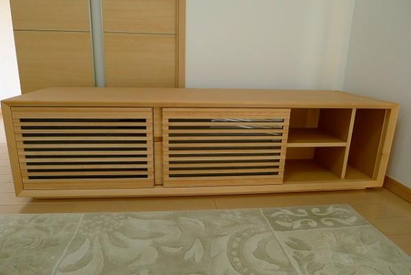カリモク家具 テレビボードQU5088P001の内部