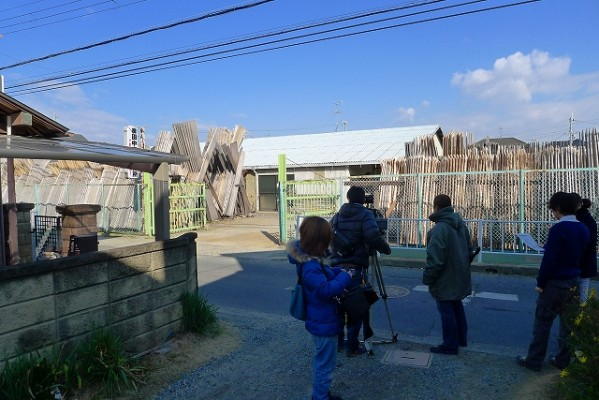 EO光TV 「情報navi 旬なKANSAI」の工房 取材風景 4