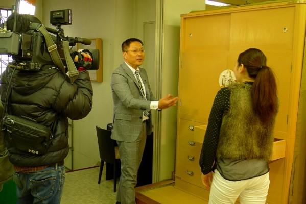 EO光TV 「情報navi 旬なKANSAI」の取材