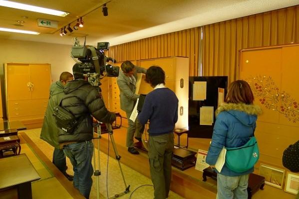 eo光TVで弊社の大阪泉州桐箪笥の事が、3月17日(月曜日)から1週間放送されます。
