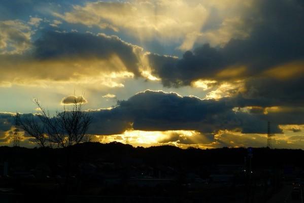 大阪泉州の綺麗な空