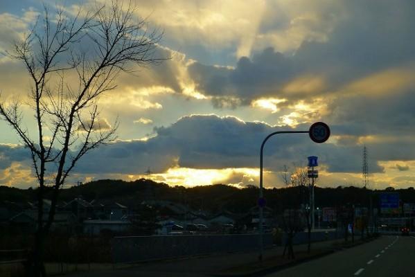 大阪泉州の綺麗な空の写真