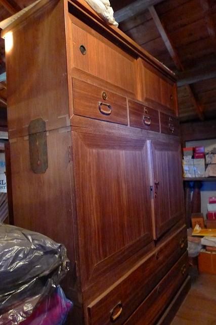 こだわりの桐箪笥の社長ブログ 古い桐たんすの修理 桐箪笥の洗い の費用は、・・・