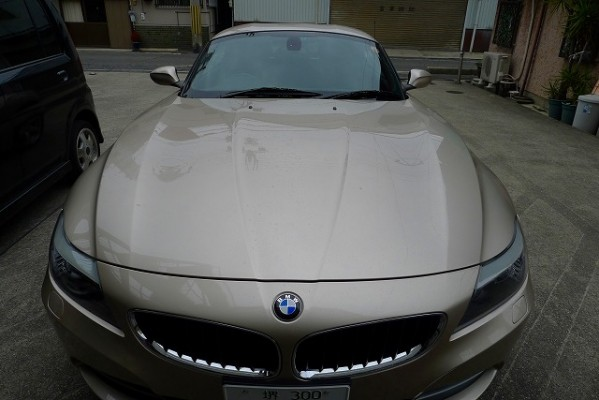 BMW Z4のフロントノーズ