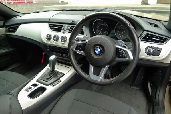 BMW Z4のインパネ
