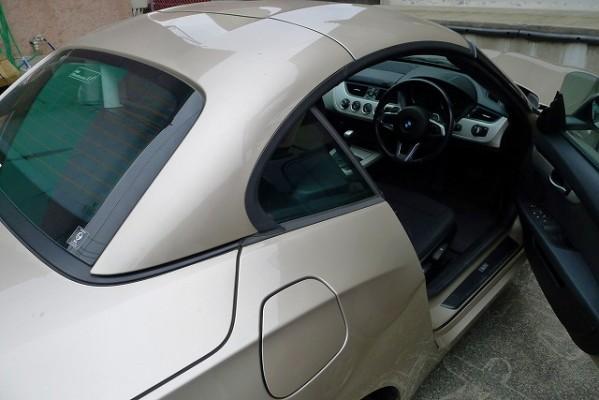 BMW Z4の運転席