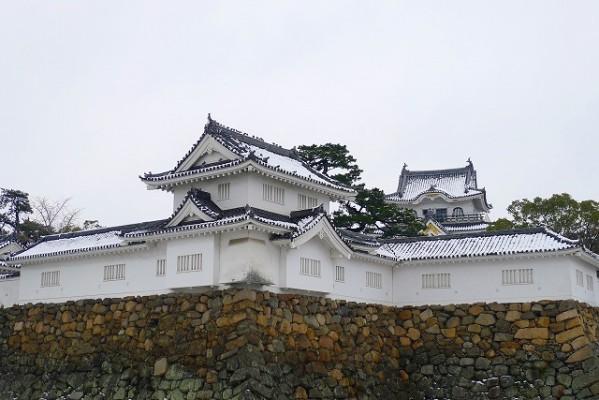 岸和田城の隅櫓