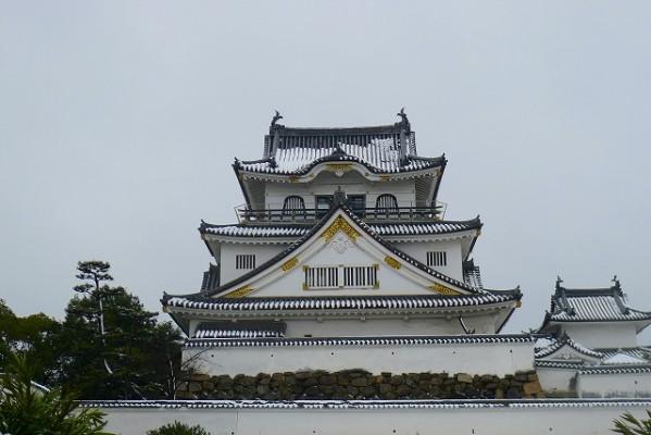 岸和田城の天守閣