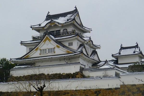 雪の千亀利城(ちきりじょう)