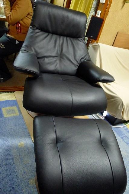 カリモク家具 ザ・ファースト S-RU7450R001とオットマンS-RU0256R001